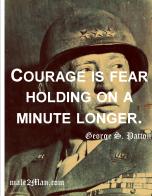 George Patton Courage
