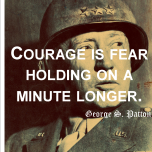 George Patton Courage