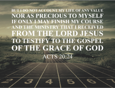 Acts 20.24