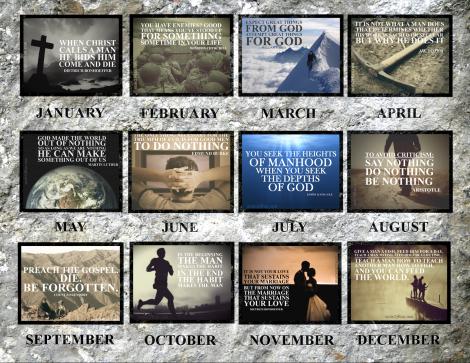 Calendar Back
